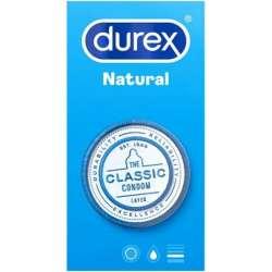 DUREX NATURAL 6 UDS