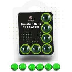 SECRET PLAY SET 6 BRAZILIAN BALLS VIBRACIÓN MENTA