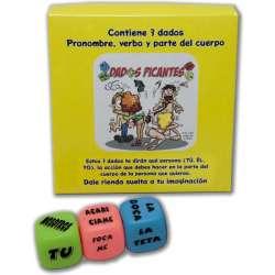 DADOS PICANTES JUEGO DE 3 DADOS