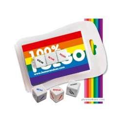 BLISTER 100% FUEGO (3 MINI DADOS) LGTBI