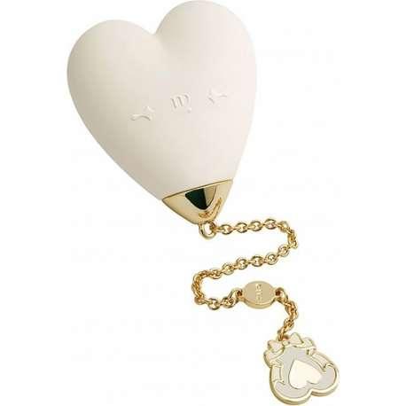 ZALO BABY HEART VIBRADOR BLANCO