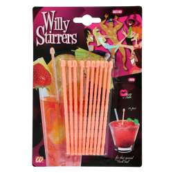 SET OF 10 WILLY STIRRERS