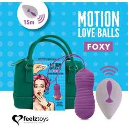 FEELZTOYS - MOTION LOVE BALLS FOXY